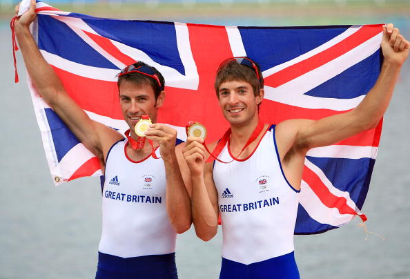 Gold in the Beijing 2008 Olympics was a career highlight for Zac Purchase (right), who powered to lightweight double sculls victory with Mark Hunter ©Getty Images
