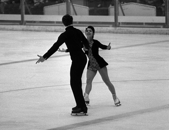 Irina Rodnina, en route to a gold medal with Alexei Ulanov at Munich 1972, is one of Russia's most famous athletes ©Popperfoto/Getty Images