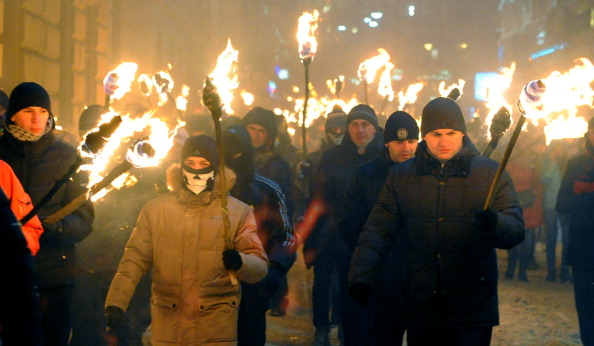 Lviv has also been the scene of protests, although they have been less violent than those in Kiev ©AFP/Getty Images