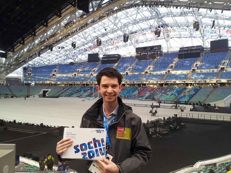 insidethegames reporter Nick Butler has arrived early for the Opening Ceremony of Sochi 2014 ©ITG