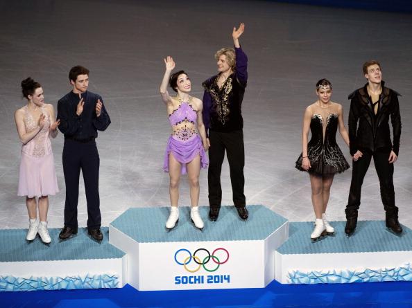 Skating medallist