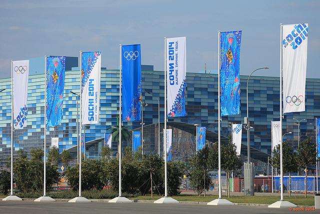 Sochi 2014 flags Sochi 2014