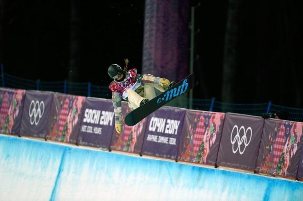 Sochi 2014 halfpipe