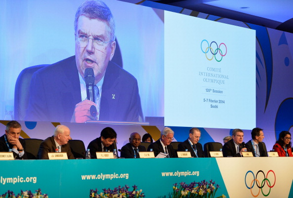 "Thomas Bach's ""Olympic Agenda 2020"" dominated the opening day of the IOC Session in Sochi ©Getty Images"