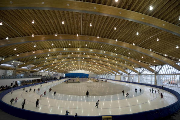 Richmond, which opened its Olympic Oval in 2008, has signed up to the sustainability programme ©AFP/Getty Images