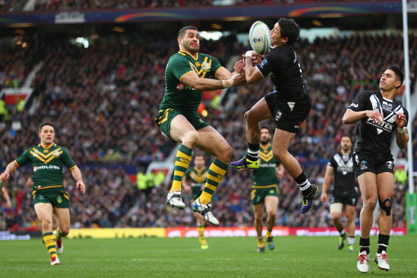 Australia and New Zealand, who went toe-to-toe in last year's Rugby League World Cup final, will co-host the 2017 tournament ©Getty Images