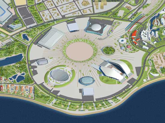 Dow Chemical has helped make Sochi's Olympic Park sustainable ©ITG