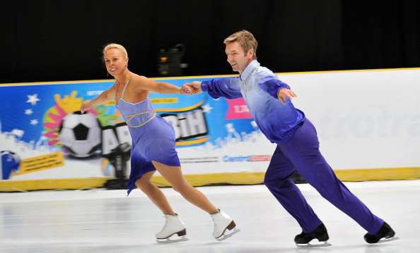 Torvill and Dean made an emotional return to Sarajevo 30 years after their gold medal winning performance ©Getty Images