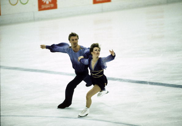 Torvill and Dean en route to Olympic gold in Sarajevo in 1984 ©Getty Images