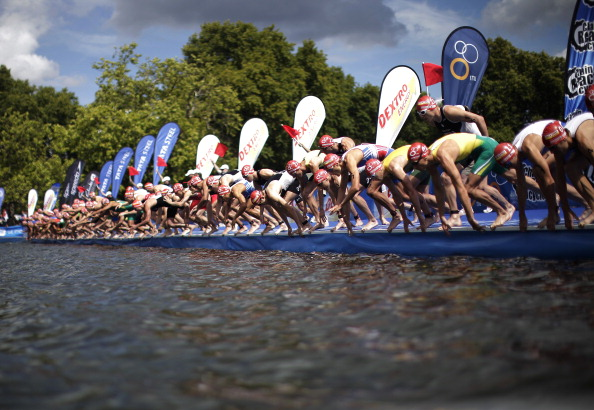 Threadneedle Investments has been announced as the global financial sponsor of the World Triathlon Series ©Getty Images