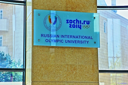 ANOC is inviting applications for two scholarship places at the Russian International Olympic University ©Sochi 2014