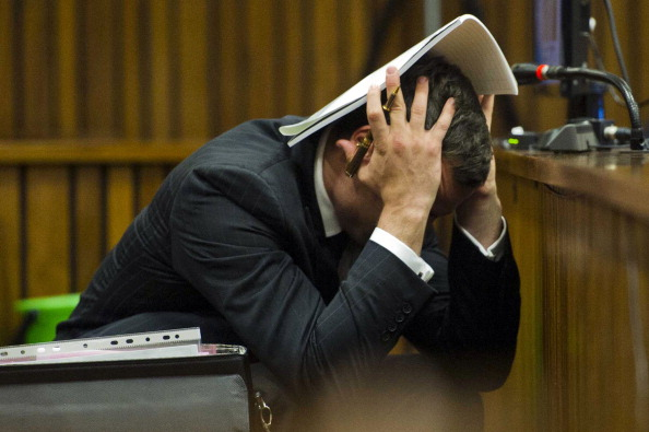 A Pretoria courtroom saw images of Oscar Pistorius' blood-splattered house in his murder trial today ©AFP/Getty Images