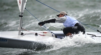 Aarhus The Hague and Gdynia have all submitted bids to host the 2018 Sailing World Championships ©AFP/Getty Images