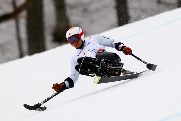 Akira Kano added the super-G title to the downhill he had won yesterday as Japan claimed gold and silver ©Getty Images