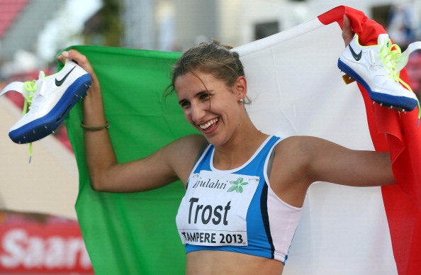 Alessia Trost is to speak at the 2014 SportAccord International Convention ©Getty Images