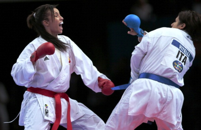 At the 2012 World Championships in Paris disabled athletes took part in some demonstration events which were deemed a huge success ©AFP/Getty Images