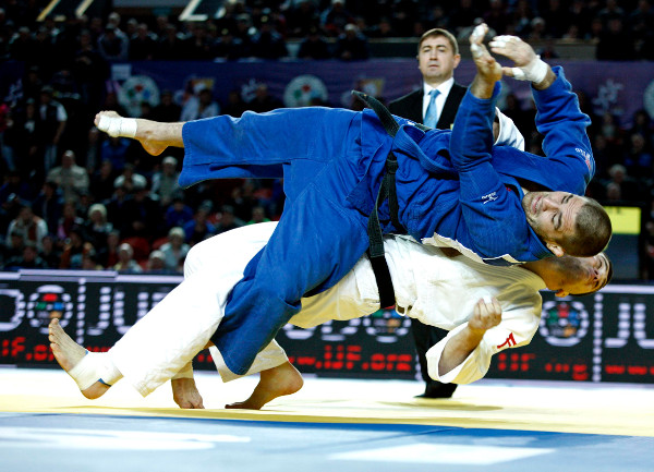 Avtandili Tchrikishvili added Georgia's second gold medal of the day with a dominant performance in the men's under 81kg category ©IJF