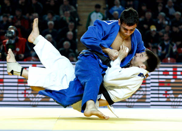 Azerbaijan dominated the men's contests with victory for both Orkhan Safarov and Nijat Shikhalizada in the under 60kg and under 66kg categories ©IJF