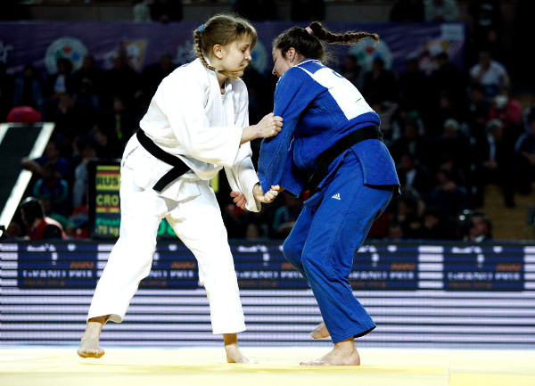 Barbara Matic secured her first Judo Grand Prix title with victory in the women's under 70kg category ©IJF