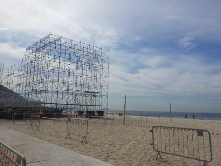 Beach Volleyball on Copacabana Beach will be a particular highlight ©ITG