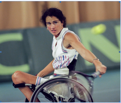 Chantal Vandierendonck has become the first female tennis player to be inducted into the ITF Hall of Fame ©Rien Hokken