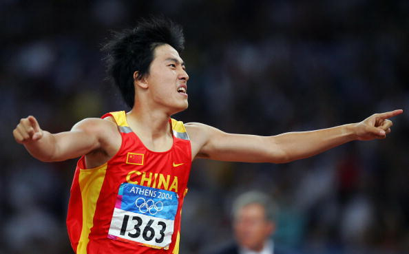 China's Liu Xiang has been unveiled as one of the 37 Athlete Role Models for the Nanjing 2014 Youth Olympics ©AFP/Getty Images