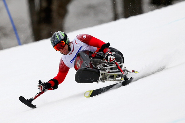 Christoph Kunz became the first Swiss medallist at the Winter Paralympics in Sochi when he won gold in the giant slalom sitting ©Getty Images