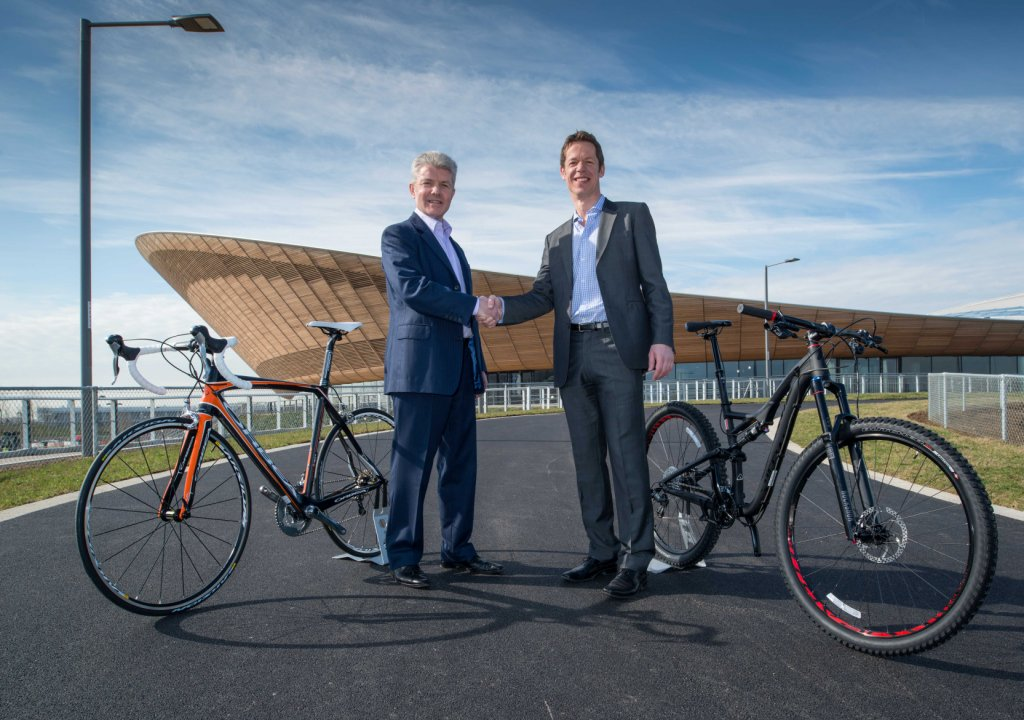 Cycle Surgery and the Lee Valley VeloPark have signed a new commercial partnership deal ©Lee Valley Park