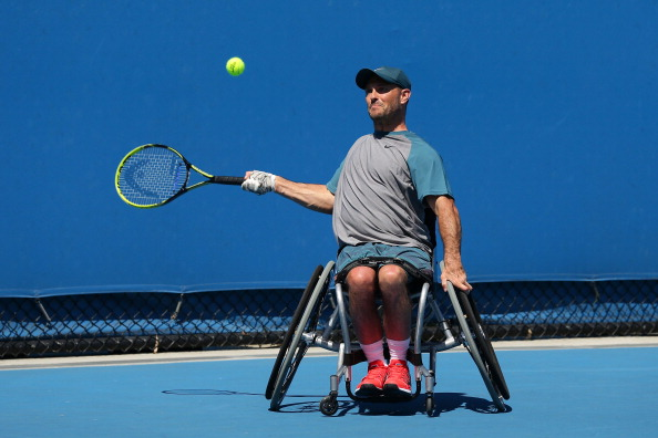 David Wagner has claimed the quad singles title at the Desert Classic in Tucson, Arizona ©Getty Images