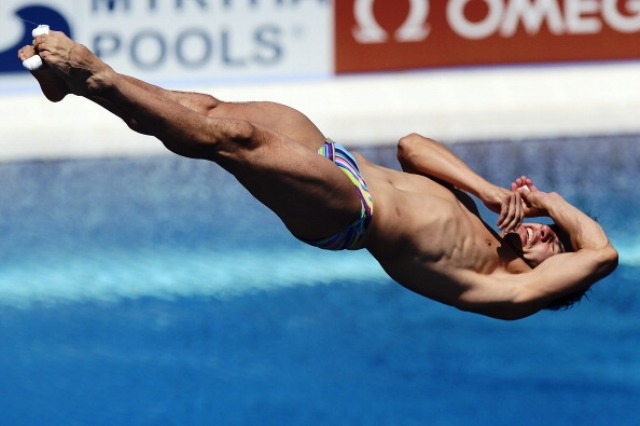 Defending Diving World Series champion Yahel Castillo will be out to challenge any Chinese dominance in Beijing this weekend ©AFP/Getty Images