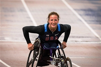 Emotions will be running high for Tatyana McFadden as she competes in the land of her birth at Sochi 2014 ©Getty Images