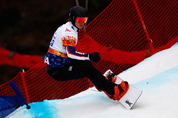 Evan Strong of the US won the men's snowboard cross in a US clean sweep ©Getty Images