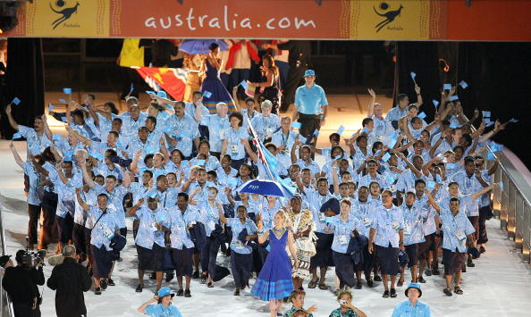 Fiji last competed in the Commonwealth Games at Melbourne in 2006 ©AFP/Getty Images