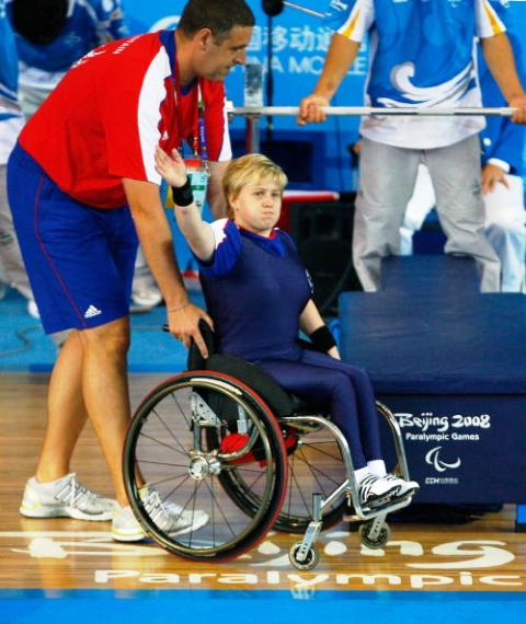 Four-time Paralympian Natalie Blake became European champion last year in Russia ©Getty Images