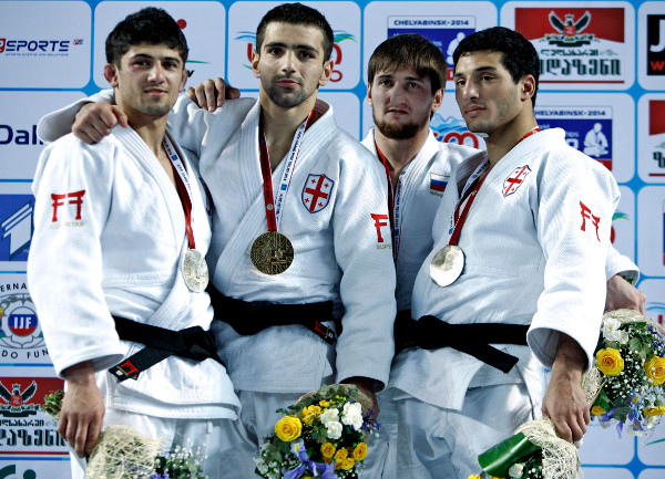 Georgia have surged up the medal table after securing two gold medals on day two of the Tbilisi Judo Grand Prix ©IJF