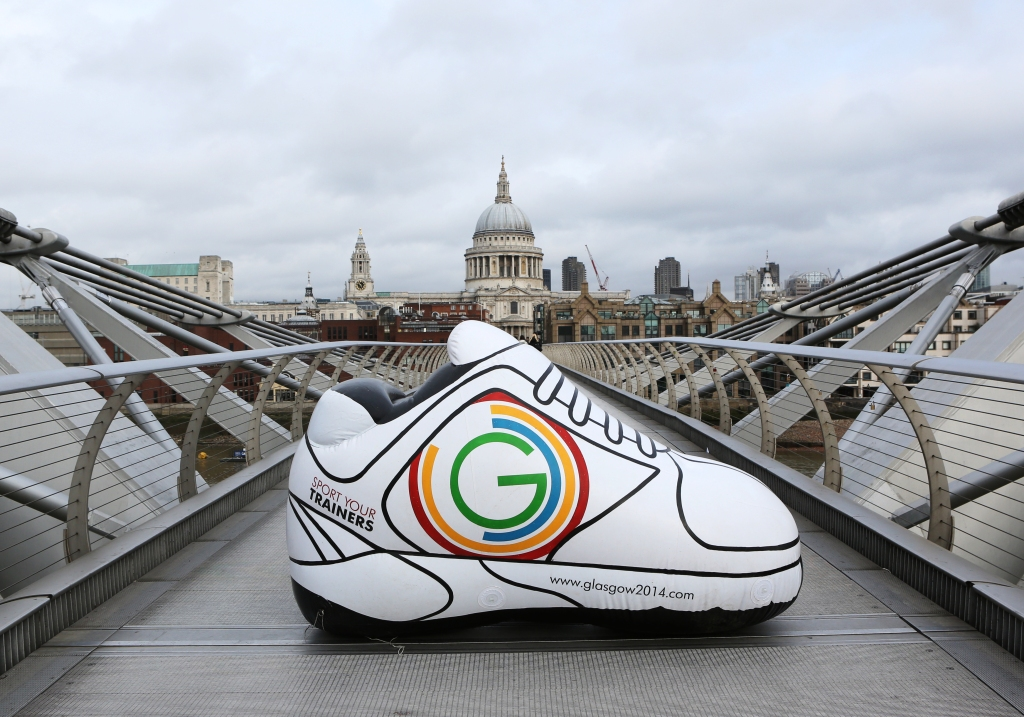Glasgow 2014 is calling on young people across the UK to Sport their Trainers on Commonwealth Day ©Glasgow 2014
