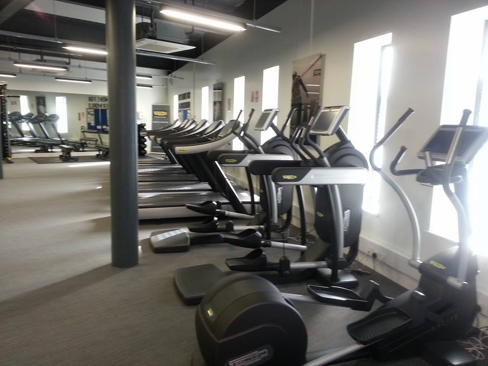 Gym equipment from the London 2012 Athletes' Village is now being used by youngsters in Wigan ©ITG