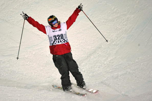Highway 93 has been renamed the Sarah Burke Memorial Highway to honour the late skier ©Getty Images