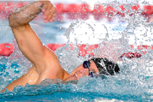 Ian Silverman added an American record in the S10 100m butterfly to the world record he set in the 1,500m freestyle on the opening day of action in Miami ©Getty Images