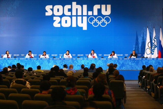 Internet access and wifi at Sochi 2014 was free to use for the world's press and media ©Getty Images