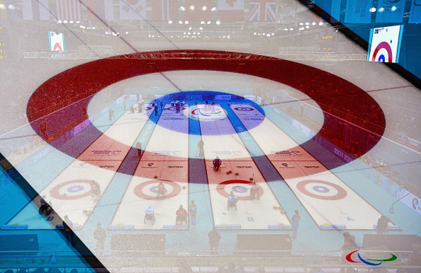 It's all to play for at the Ice Cube Curling Centre ©Getty Images