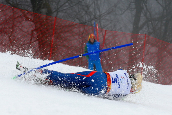 It's been a day of challenges at the Alpine Centre, as Great Britain's Kelly Gallagher has proved ©Getty Images