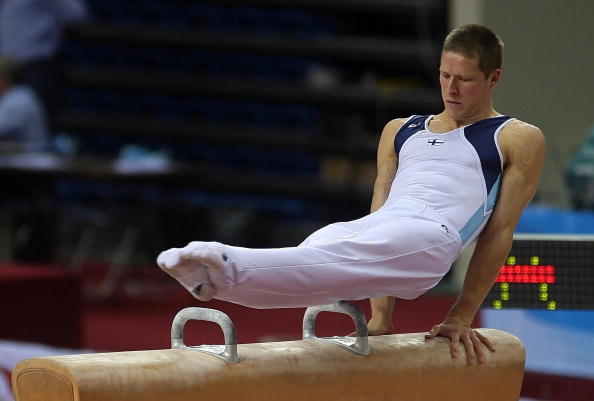 Jani Tanskanen has been re-elected unopposed as President of the FIG Athletes' Commission ©AFP/Getty Images