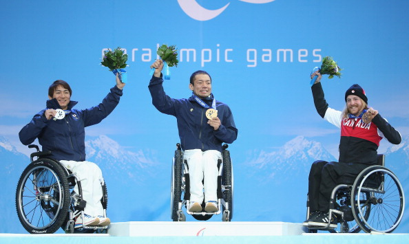 Japan's Akira Kano has won two gold medals in two days so far at Sochi 2014 ©Getty Images