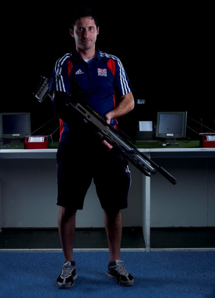 London 2012 bronze medallist Jason Bevis will be hoping to make an impact when the IPC Shooting World Cup comes to the Stoke Mandeville Stadium next week ©StokeMandeville