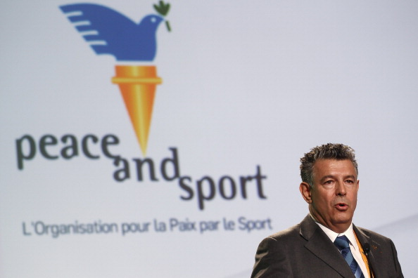 Joël Bouzou says Peace and Sport will soon be operating within refugee camps around the world ©Getty Images