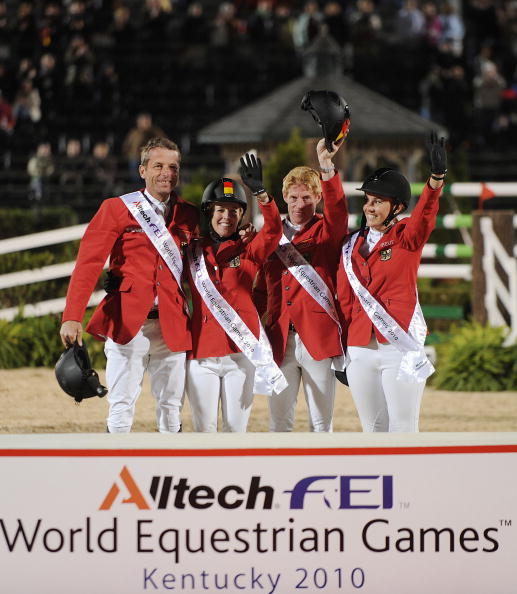 Kentucky last hosted the World Equestrian Games in 2010 ©AFP/Getty Images