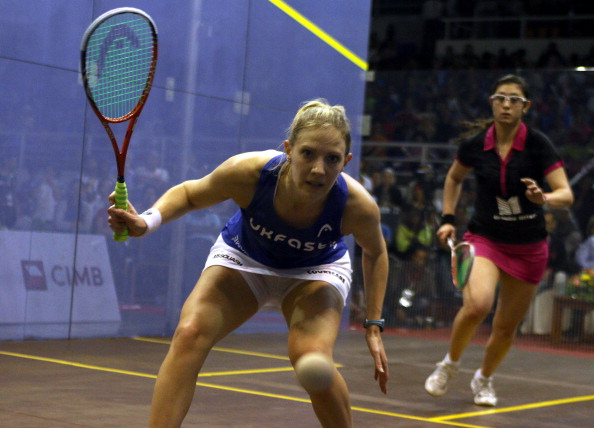 Laura Massaro won the World Championships earlier this year ©Getty Images