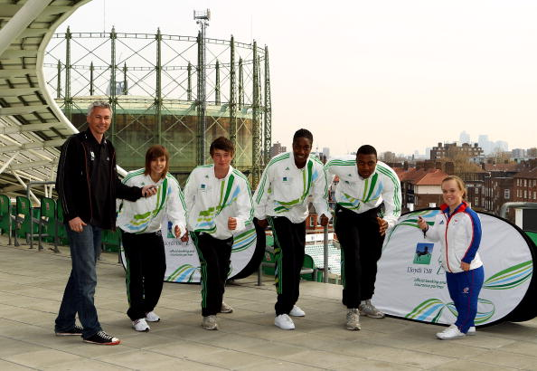 Lloyds' Local Heroes were one of the elements to its sponsorship of London 2012 ©Getty Images/Getty Images for Lloyds TSB