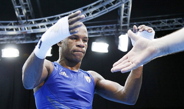 London 2012 bronze medallist Yasnier Toledo has impressed for Cuba Domadores in this season's World Series of Boxing ©AFP/Getty Images